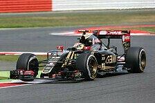 Formel 1 - Grosjean: Erst abgeflogen, dann geputzt