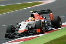 Formel 1 - Manor: Merhi jubelt, Stevens sauer