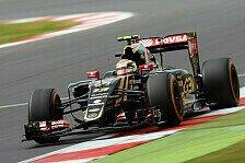 Formel 1 - Maldonado: Gutes Resultat auch ohne Updates drin