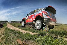 WRC - Finnland: Hyundai bläst zur Attacke auf Citroen