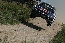 WRC - Rallye Polen: Ogiers Vorsprung schrumpft