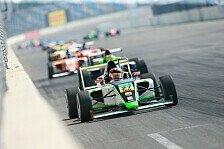 ADAC Formel 4 - Marvin Dienst siegt in der Lausitz
