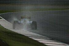 Formel 1 - Pirelli: Regentests im Januar geplant