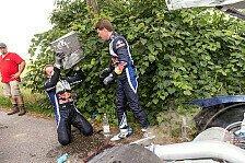 WRC - Schwerer Unfall von Latvala beendet VW-Testfahrten