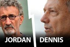 Formel 1 - Schlammschlacht zwischen Dennis und Jordan