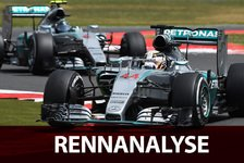 Formel 1 - Rennanalyse: So gewann Hamilton Silverstone