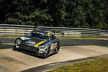 VLN - Gelungene Rennpremiere des Mercedes-AMG GT3