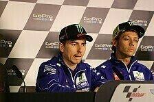 MotoGP - WM-Duell: Lorenzo mit Seitenhieb gegen Rossi