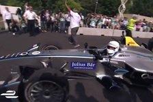 Formel E - Video: Londons Bürgermeister im Formel-E-Renner