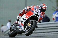 MotoGP - Doviziosos verzweifelter Versuch endet im Kies