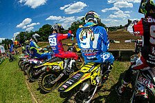 ADAC MX Masters - Tensfeld: WM-Pilot Kevin Strijbos am Start