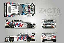 Blancpain GT Serien - Spa: Zanardi und Glock in Michel Vaillant-Farben