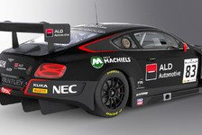 Mehr Sportwagen - Doppel-Klassensieger Machiels verstärkt Bentley
