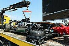 Formel 1 - Entwarnung von Perez: Alles in Ordnung