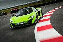 Auto - McLaren 675LT: Leistung ist eine schöne Sache