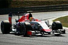 Formel 1 - Merhi hofft auf Saisonende bei Manor
