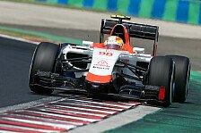 Formel 1 - Manor fährt Rennen in Gedenken an Bianchi