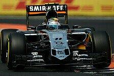 Formel 1 - Perez sucht Weg zurück an die Spitze