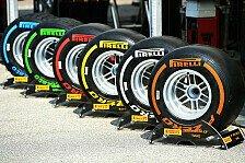 Formel 1 - Das Reifenreglement für 2016 in der Übersicht