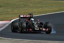 Formel 1 - Lotus punktet trotz Strafen ohne Ende