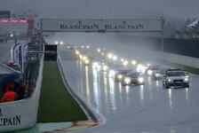 Blancpain GT Series - Regen sorgt für hektischen Start in Spa