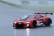 Blancpain GT Series - WRT-Audi führt auf dem Weg in die Nacht