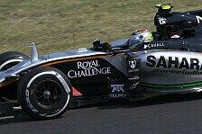Formel 1 - Perez scheidet mit Bremsdefekt aus