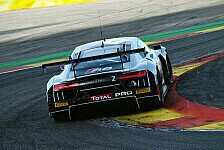 Blancpain GT Serien - Audi Zweiter und Dritter in Spa