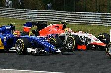 Formel 1 - Manor: Mit Überraschung in zweite Saisonhälfte?