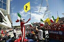 Formel 1 - Chaos beim Ungarn GP: Vettel holt Sensationssieg