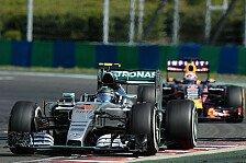 Formel 1 - Ungarn GP: Heißer Kampf von Mercedes und Red Bull