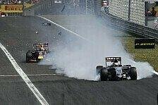Formel 1 - Bilder: Ungarn GP - Hülkenberg-Unfall