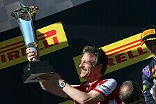 Formel 1 - Vertrag verlängert: Allison bleibt bei Ferrari