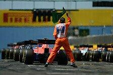 Formel 1 - Startabbruch: Deshalb stand Massa falsch