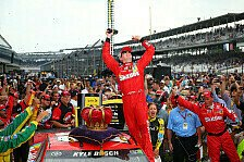 NASCAR - Brickyard-Sieg für Kyle Busch