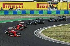 Formel 1 - Berger: Lob für Ferrari, Mercedes aber zu stark