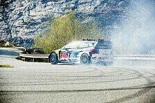 WRC - Svindal und Mikkelsen beim Downhill im Fjord