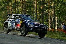 WRC - Latvala schlägt Ogier im Shakedown hauchdünn