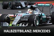 Formel 1 - Die F1-Halbzeitbilanz: Mercedes