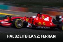 Formel 1 - Die F1-Halbzeitbilanz: Ferrari