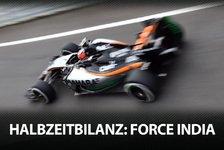 Formel 1 - Die F1-Halbzeitbilanz: Force India