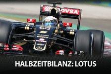 Formel 1 - Die F1-Halbzeitbilanz: Lotus
