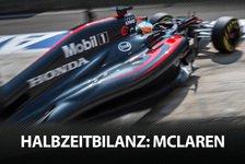 Formel 1 - Die F1-Halbzeitbilanz: McLaren