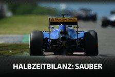 Formel 1 - Die F1-Halbzeitbilanz: Sauber