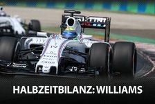 Formel 1 - Die F1-Halbzeitbilanz: Williams
