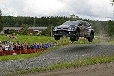 WRC - Finnland: Latvala stürmt an die Spitze