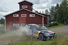 WRC - Latvala vs. Ogier in Finnland