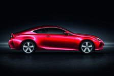 Auto - Neues Lexus Coupé RC 200t