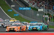 DTM - Green-Getriebe trübt Siegesfeier bei Audi