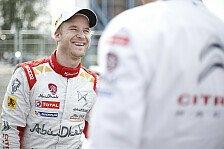 WRC - Korsika: Östberg plant Comeback nach Crash